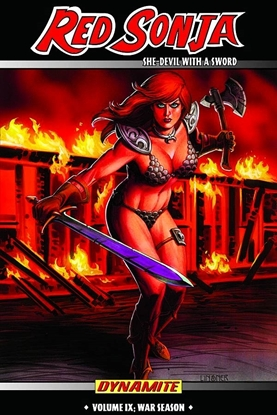 Picture of RED SONJA SHE DEVIL TPB VOL 9 WAR SEASON