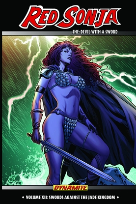 Picture of RED SONJA SHE DEVIL TPB VOL 12 SWORDS AGAINST JADE KINGDOM