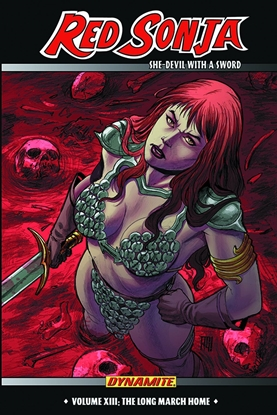 Picture of RED SONJA SHE DEVIL TPB VOL 13 THE LONG MARCH HOME