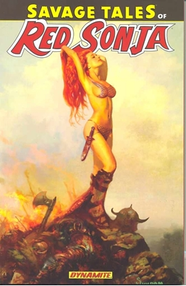 Picture of SAVAGE TALES OF RED SONJA TPB