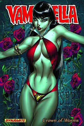 Picture of VAMPIRELLA TPB VOL 1 CROWN OF WORMS