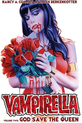Picture of NEW VAMPIRELLA TPB VOL 2 GOD SAVE THE QUEEN