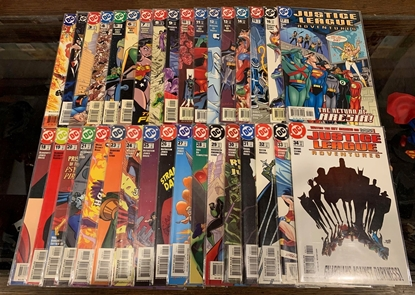 Picture of JUSTICE LEAGUE ADVENTURES  (2002) #1-34 COMPLETE  SET VF/NM
