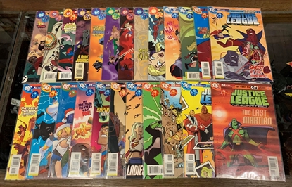 Picture of JUSTICE LEAGUE UNLIMITED  (2004) #1-46 COMPLETE  SET VF/NM