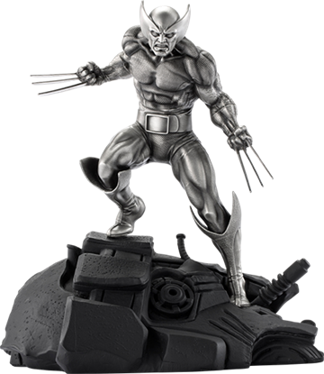 Picture of 1:8 SCALE WOLVERINE PEWTER FIGURE