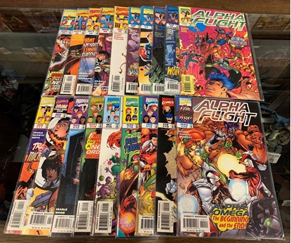 Picture of ALPHA FLIGHT (1997) #1-20 MISSING #17 NEAR COMPLETE SET VF/NM