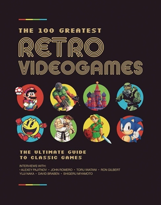 Picture of 100 GREATEST RETRO VIDEOGAMES HC