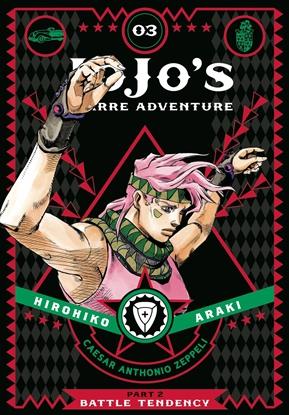 Picture of JOJOS BIZARRE ADVENTURE 2 BATTLE TENDENCY HC VOL 3
