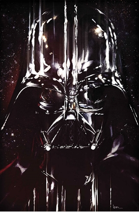 Picture of STAR WARS DARTH VADER POSTER BOOK TPB