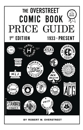 Picture of OVERSTREET COMIC BOOK PRICE GUIDE #1 FACSIMILE EDITION SC