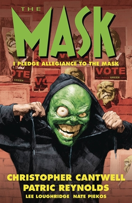 Picture of MASK I PLEDGE ALLEGIANCE TO THE MASK TPB