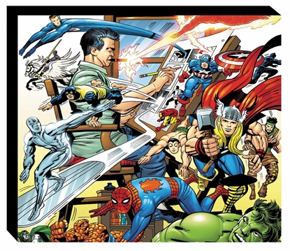 Picture of MARVEL LEGACY OF JACK KIRBY SLIPCASE HC