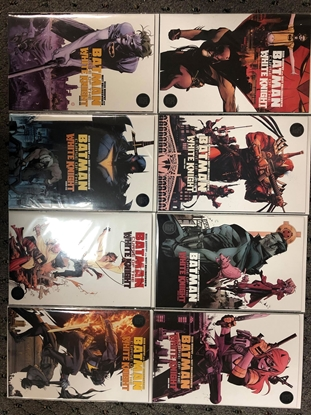 Picture of BATMAN CURSE OF THE WHITE KNIGHT #1-8 CVR A SET