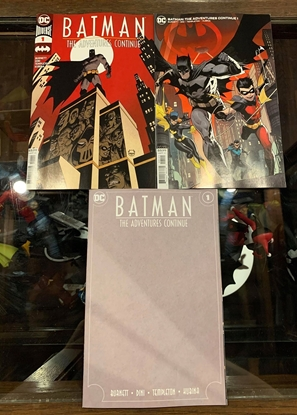 Picture of BATMAN THE ADVENTURES CONTINUE #1  3 COVER SET 1ST PRINT BLANK & VAR NM