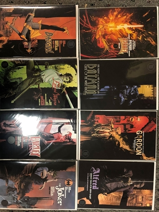 Picture of BATMAN CURSE OF THE WHITE KNIGHT #1-8 CVR B SET