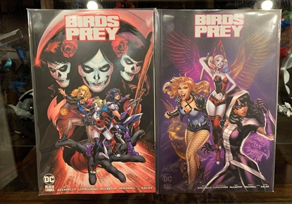 Picture of BIRDS OF PREY (2020) #1 1ST PRINT & VARIANT COVER SET NM