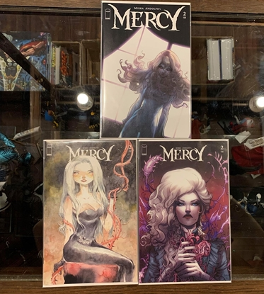 Picture of MIRKA ANDOLFO MERCY #2 CVR A B C COVER SET NM