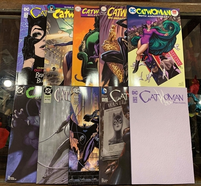 Picture of CATWOMAN 80TH ANNIV 100 PAGE SUPER SPECT #1 COVER SET 10 CVRS NM