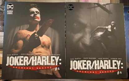 Picture of JOKER HARLEY CRIMINAL SANITY #4 1ST PRINT & VARIANT COVER SET NM