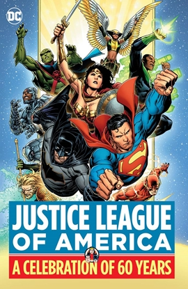 Picture of JUSTICE LEAGUE OF AMERICA A CELEBRATION OF 60 YEARS HC