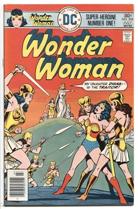 Picture of WONDER WOMAN (1942) #224 9.2 NM-