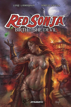 Picture of RED SONJA BIRTH OF SHE DEVIL TPB