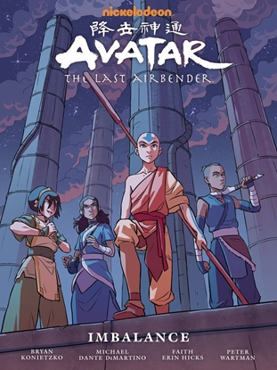 Picture of AVATAR LAST AIRBENDER IMBALANCE LIBRARY EDITION HC