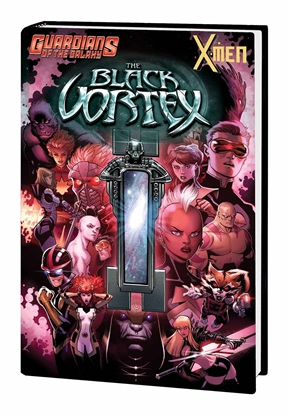 Picture of GUARDIANS OF GALAXY AND X-MEN HC BLACK VORTEX