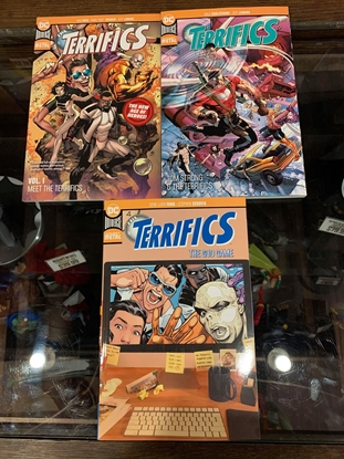 Picture of TERRIFICS VOL 1 2 3 TPB SET