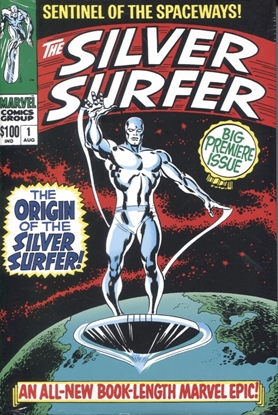Picture of SILVER SURFER OMNIBUS HC VOL 1 NEW PRINTING