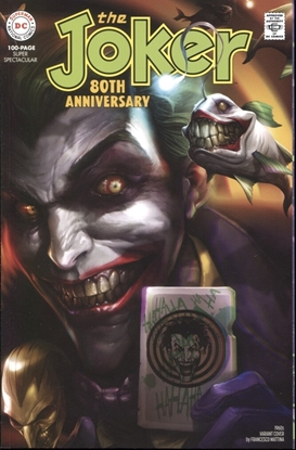 Picture of JOKER 80TH ANNIVERSARY 100 PAGE SUPER SPECT #1 1960S F MATTINA VARRIANT