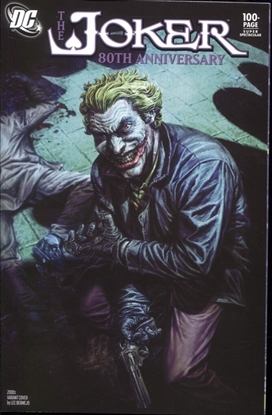 Picture of JOKER 80TH ANNIVERSARY 100 PAGE SUPER SPECT #1 2000S LEE BERMEJO VARIANT