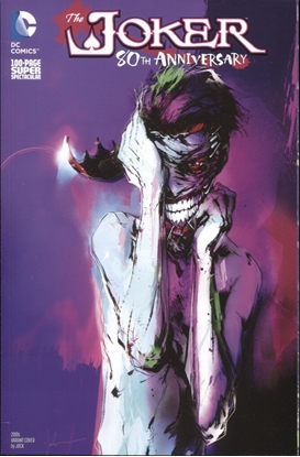 Picture of JOKER 80TH ANNIVERSARY SUPER SPEC 100 PAGE #1 2010S JOCK VARIANT ED