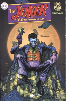 Picture of JOKER 80TH ANNIV 100 PAGE SUPER SPECT #1 1950S DAVID FINCH V