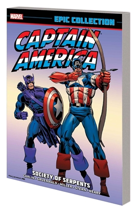 Picture of CAPTAIN AMERICA EPIC COLLECTION TPB SOCIETY OF SERPENTS