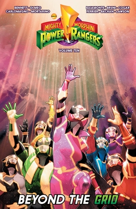Picture of MIGHTY MORPHIN POWER RANGERS TPB VOL 10