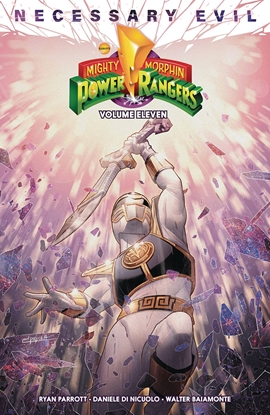 Picture of MIGHTY MORPHIN POWER RANGERS TPB VOL 11