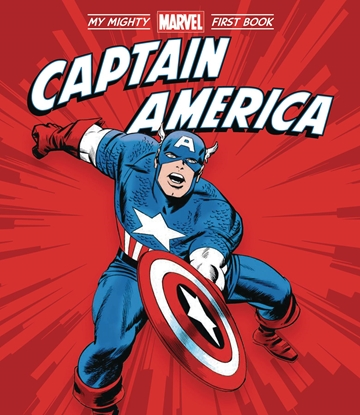 Picture of CAPTAIN AMERICA MY MIGHTY MARVEL FIRST BOOK BOARD BOOK (RES)
