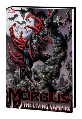 Picture of MORBIUS LIVING VAMPIRE OMNIBUS HC