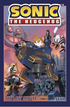 Picture of SONIC THE HEDGEHOG TPB VOL 6 LAST MINUTE