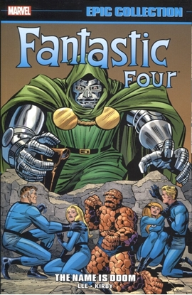 Picture of FANTASTIC FOUR EPIC COLLECTION TPB NAME IS DOOM