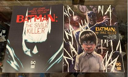 Picture of BATMAN THE SMILE KILLER #1 1ST PRINT & KAARE ANDREWS VARIANT CVR SET