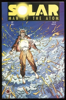 Picture of SOLAR MAN OF THE ATOM (1991) #1 9.6 NM+