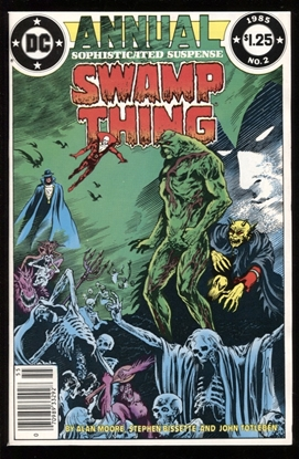 Picture of SWAMP THING (1982) ANNUAL #2 9.6 NM+