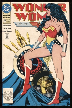 Picture of WONDER WOMAN (1987) #72 9.2 NM-
