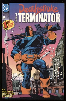 Picture of DEATHSTROKE THE TERMINATOR (1991) #1 9.6 NM+