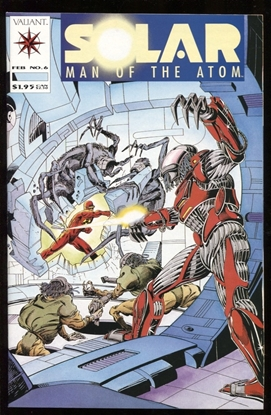 Picture of SOLAR MAN OF THE ATOM (1991) #6 9.4 NM