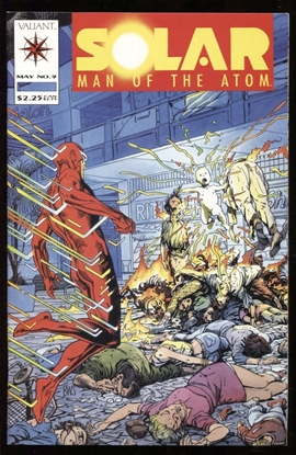 Picture of SOLAR MAN OF THE ATOM (1991) #9 9.6 NM+