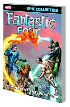 Picture of FANTASTIC FOUR EPIC COLLECTION WORLDS GREATEST COMIC MAG TPB
