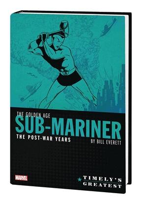 Picture of TIMELYS SUB-MARINER EVERETT POST-WAR OMNIBUS HC